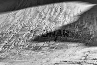 Blick auf den Gletscher Sarvajiegna, Sarek Nationalpark, Welterbe Laponia, Lappland