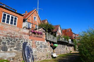 historische Altstadt von Lauenburg an der Elbe