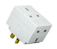 UK Cube Adaptor Plug
