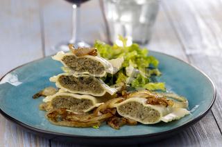 schwäbische Maultaschen mit Salat