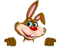 Rabbit character cute portrait