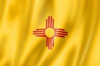 New Mexico flag, USA