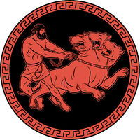 Capture and bring back Cerberus. 12 Labours of Hercules Heracles