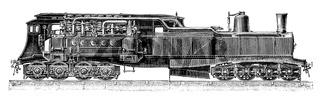 Steam electric locomotive Nr. 8001, Heilmann, 1897