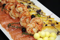 Assorted shrimp, trout and oily fish