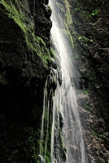 Wassernebel am Wasserfall
