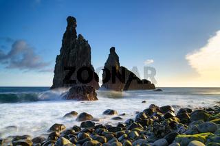 Janela Islets in Porto Moniz in Madeira