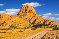 Rocks in the Spitskoppe desert