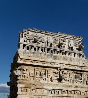Mayan Temple Ruin