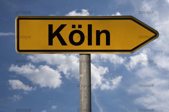 Wegweiser Köln | signpost Köln