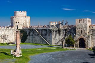 Yedikule Hisarları (Seven Towers Fortress) in Istanbul, Turkey