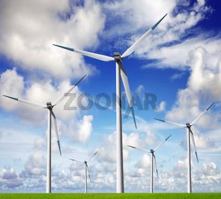 Wind energy farm