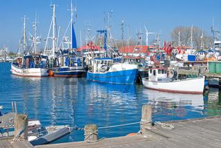 Hafen von Burgstaaken auf Fehmarn