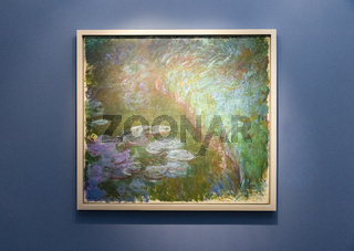 Seerosen, Claude Monet