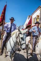 The parade of World Gypsy Festival