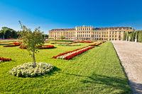 Vienna Schlossberg castle gardens view