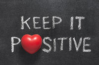 keep it positive heart