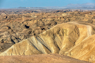 Incredible Namibia landscape like moonscape, Africa