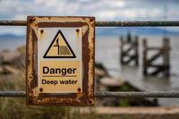 Sign: Danger, Deep Water