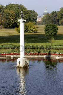 Schloss Charlottenhof im Schlosspark Sanssouci