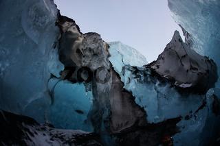 Cave of Iceland ice (Vatnajökull)