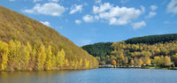 Biggesee Reservoir in Sauerland,North Rhine westphalia,Germany
