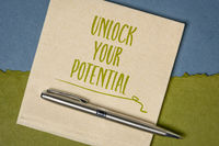 Unlock your potential reminder note