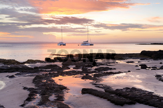 Luxury and serenity catamarans at Cabbage Tree Beach Jervis Bay