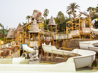 'The Lost City' water attraction in the Siam waterpark