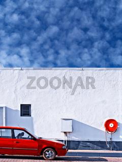 retro car wash