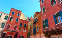 Old houses in Venice