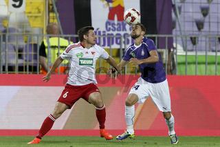 UTE vs. DVSC OTP Bank League football match