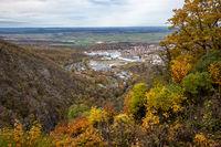 Blick nach Thale Harz