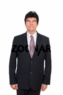 Portrait of mature handsome businessman in suit