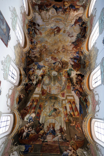 barocke Innenausstattung der Stadtpfarrkirche St. Martin Biberach