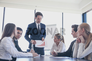 Presentation at office