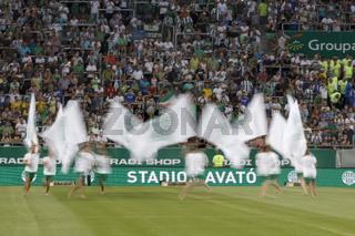 Ferencvaros vs. Chelsea stadium opening football match