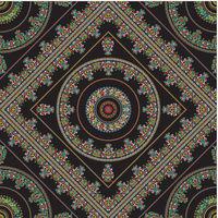 Hungarian seamless pattern