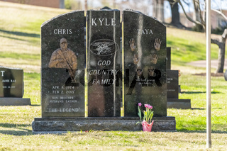 Tomb Of Chris Kyle, American Sniper