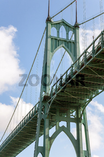 St. Johns Brücke Portland Oregon