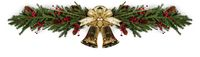 Jingle bells Christmas fir decoration