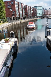 Wasserkanal in Hamburg