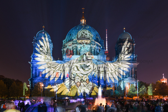 Festival of Lights, Berlin Cathedral