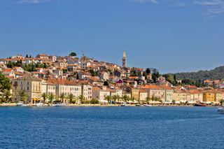 Adriatic Town of Mali Losinj, view from sea