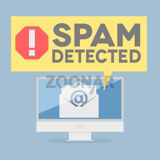 spam warning