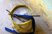 Rustic handmade brazilian drums