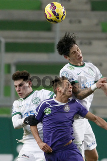 Ferencvaros vs. Ujpest League Cup football match