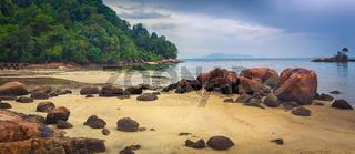 Penang national park, Malaysia. Panorama