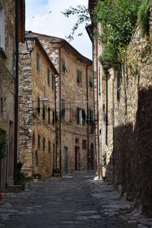 Altstadt in Suvereto Toskana - Italy