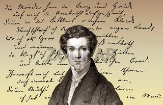 Wilhelm Hauff, 1802 - 1827, German writer